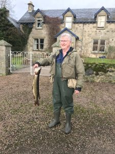Last Catch of 2018 Willie Laird with a Pike