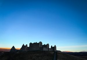 Ruthven Barracks at Sunrise Jan 2019
